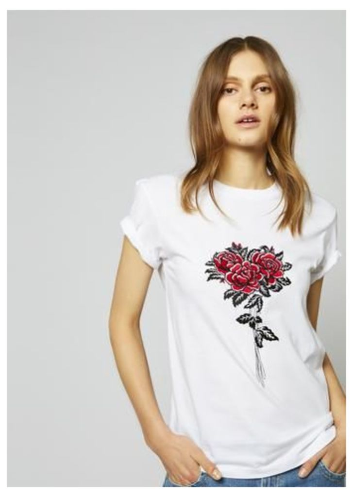 Rose Bunch Boyfriend T-Shirt