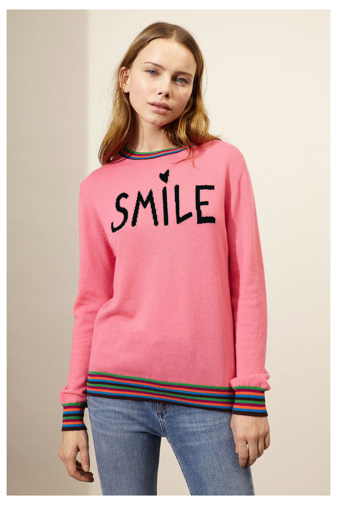 Pink Smile Cashmere Sweater