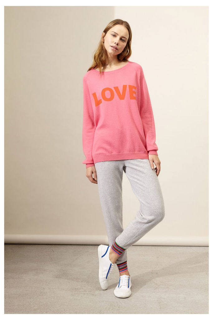 Pink Love Cashmere Sweater