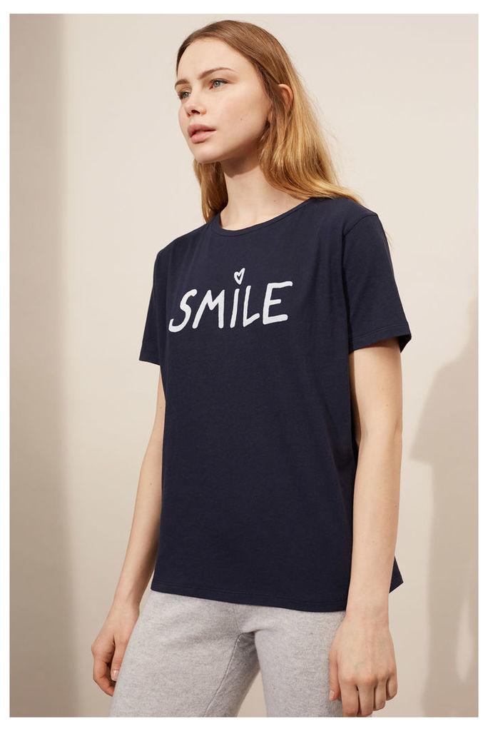NEW Navy Smile T-Shirt