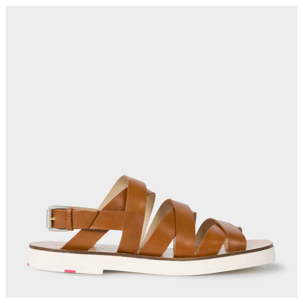 Women's Tan Leather 'Rio' Sandals