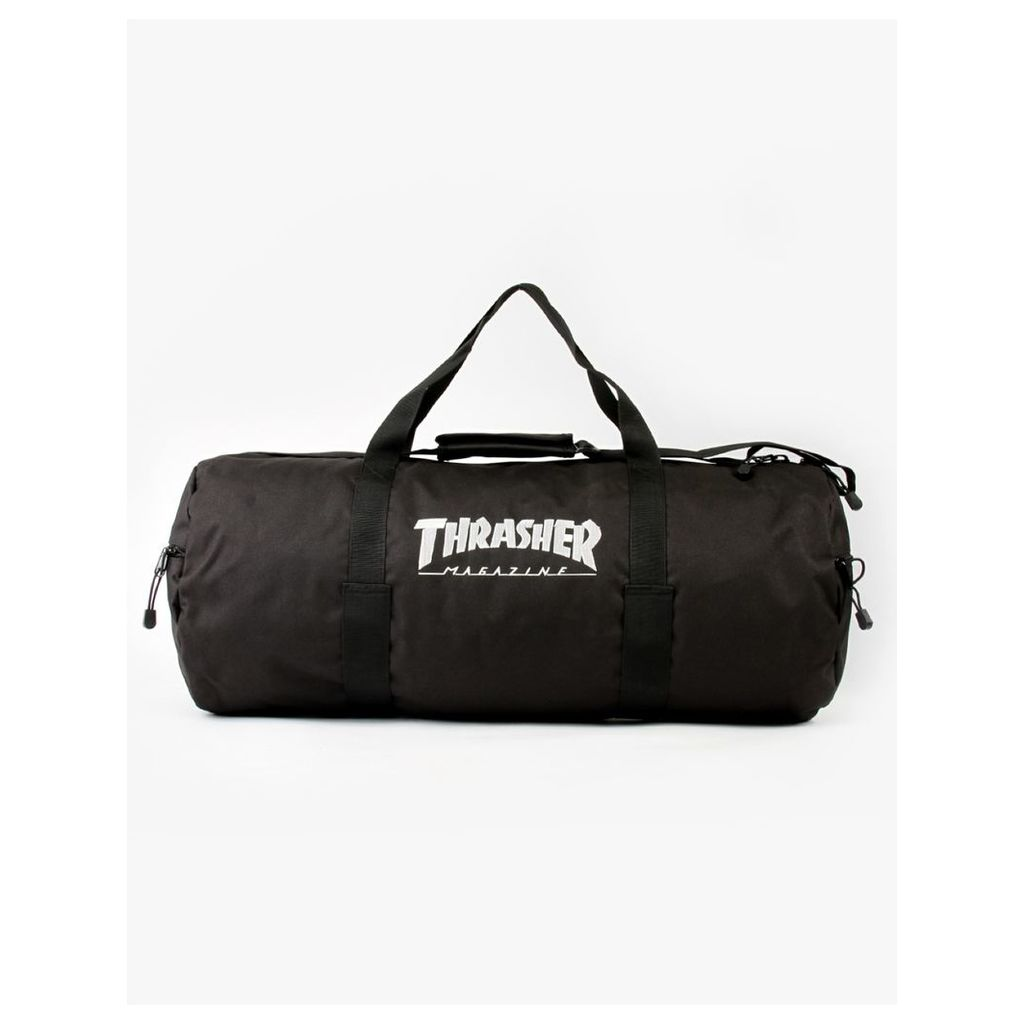 Thrasher Skate Mag Logo Duffle Bag - Black (One Size Only)