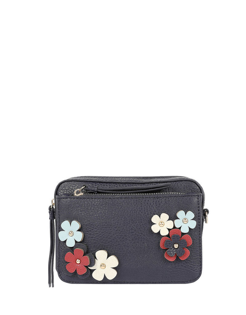 Naomi Appliqué Small Camera Bag