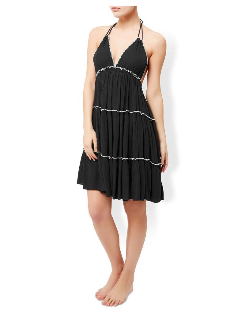 Contrast Stitch Cami Dress