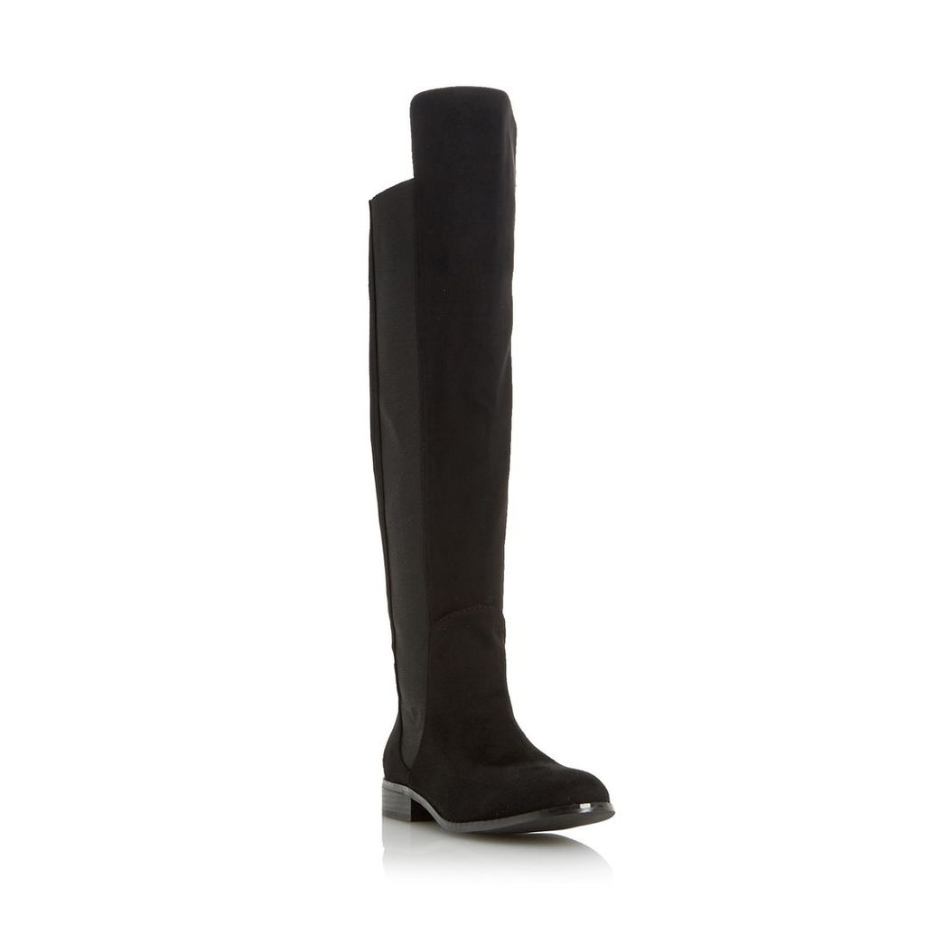 Toulus Elasticated Panel Over The Knee Boot