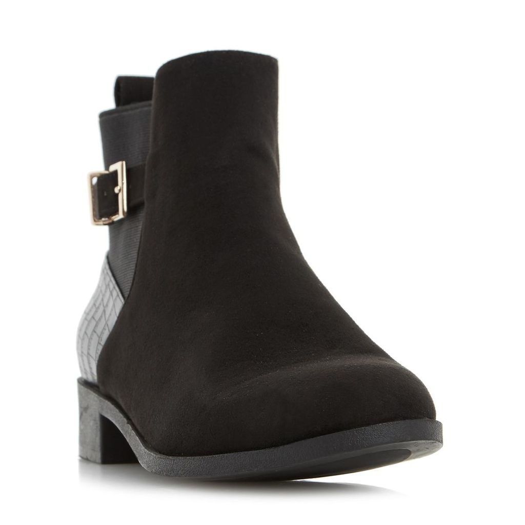 Pippa Buckle Detail Ankle Boot