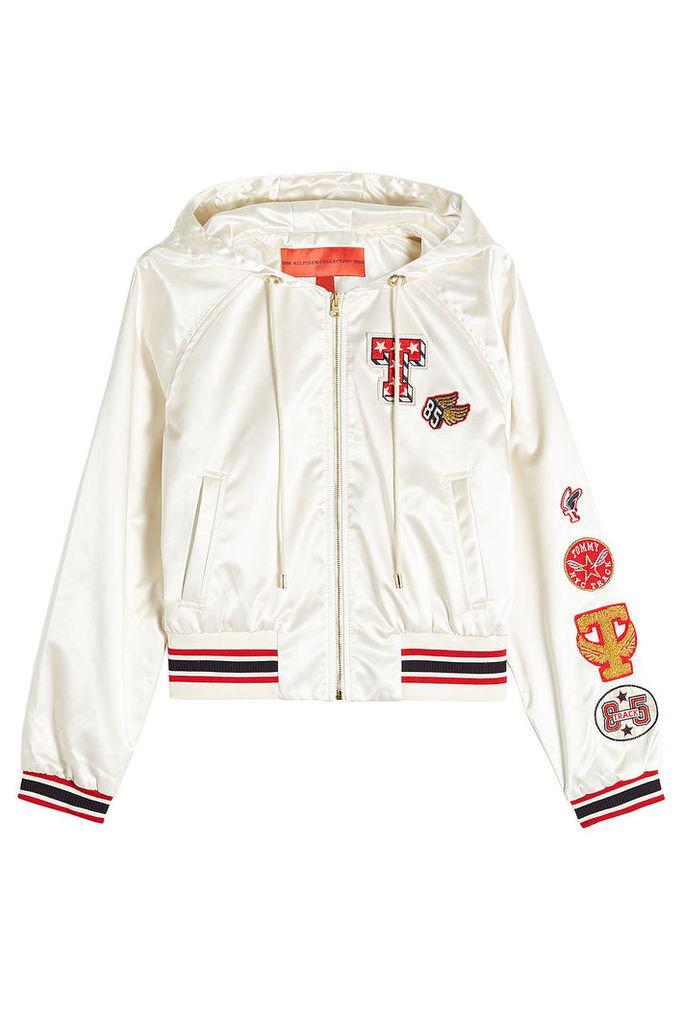 Hilfiger Collection Satin Jacket