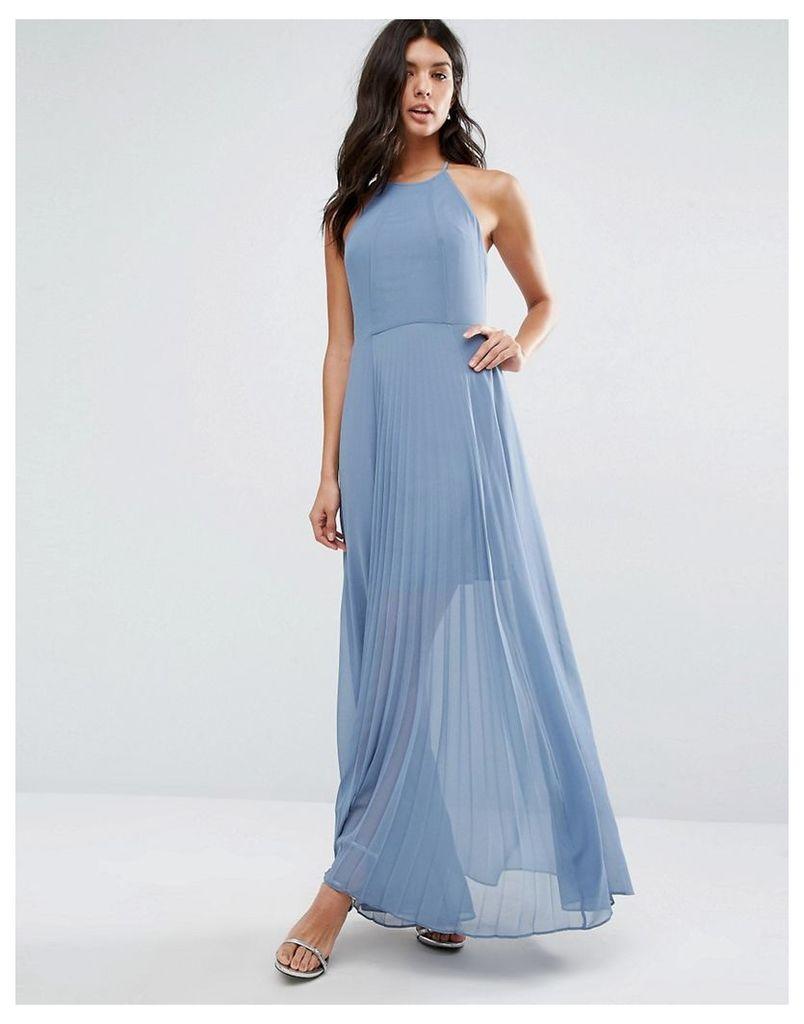 BCBGeneration Halter Chiffon Maxi Dress - Vintage 948