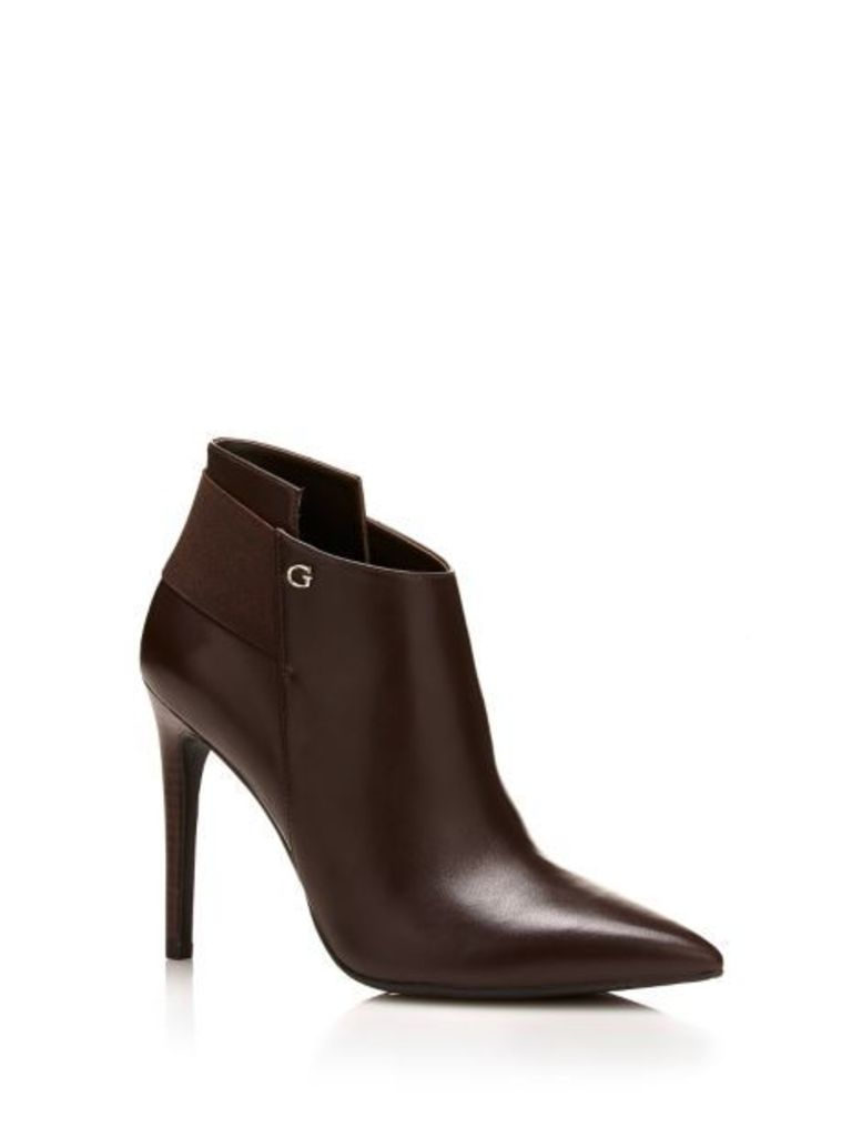 Guess Oliva Leather Ankle Boott