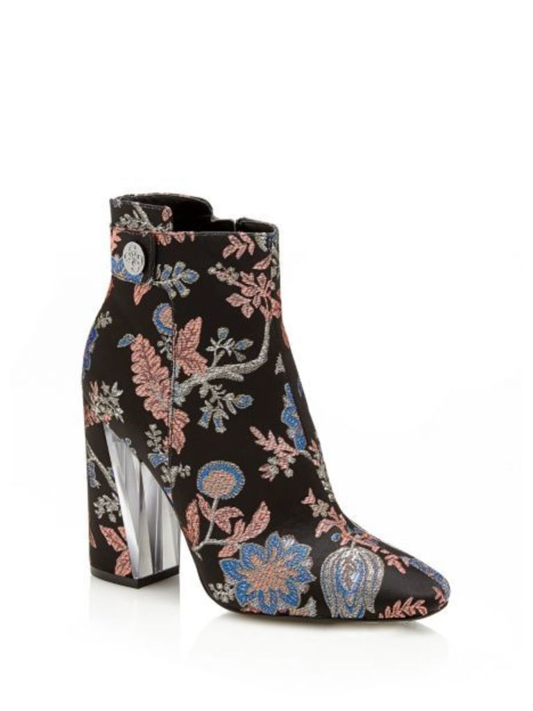 Guess Eleda2 Floral Ankle Boot