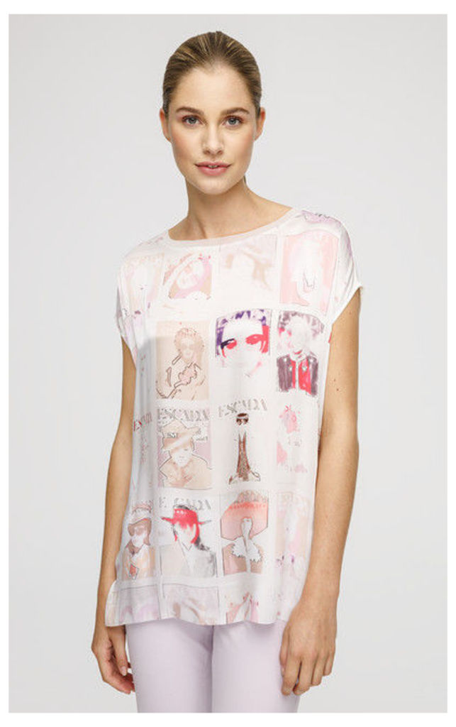 ESCADA SPORT T-Shirt Emagazina White