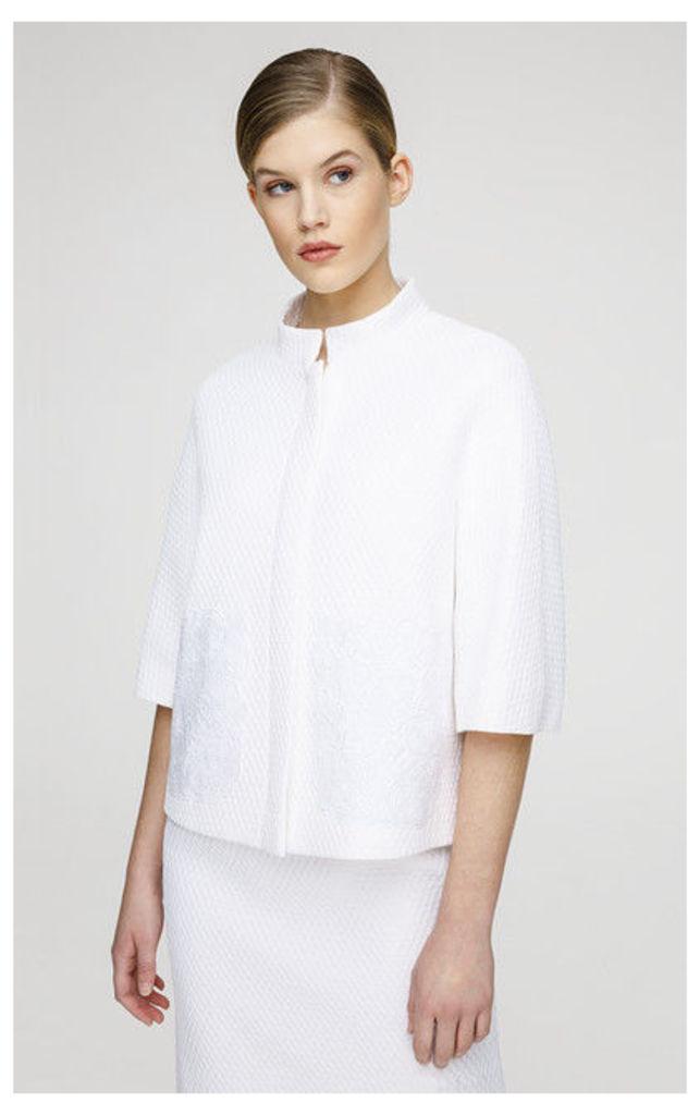 ESCADA Jacket Bak White