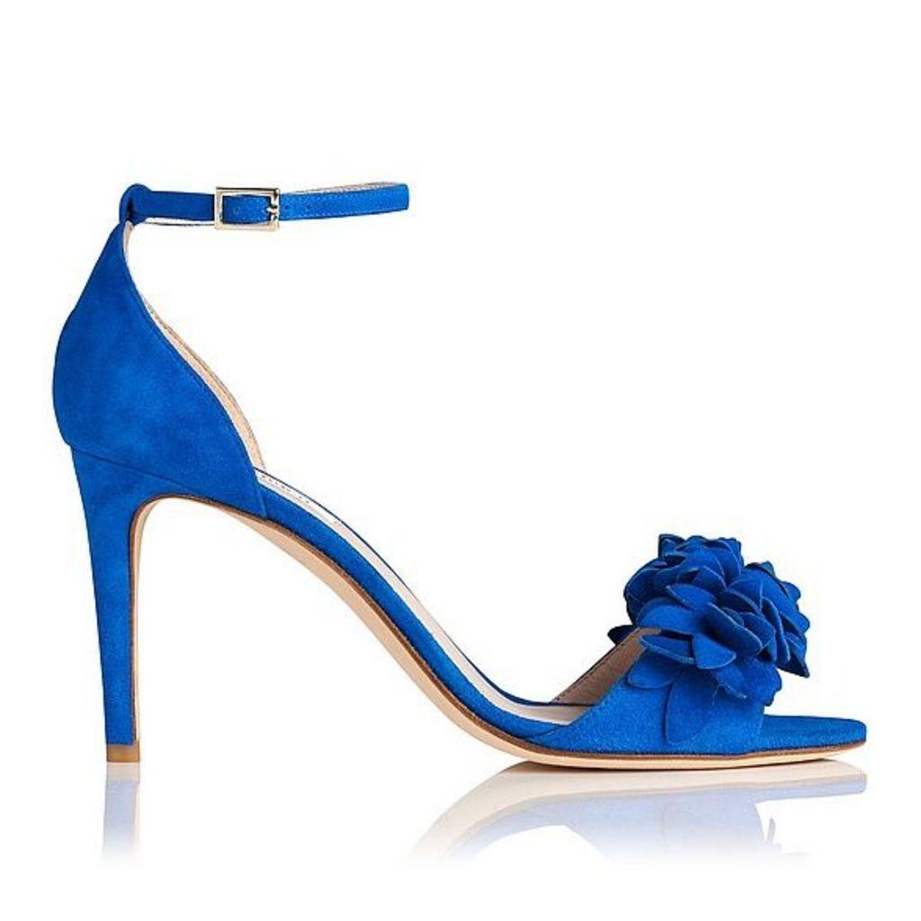 Claudie Blue Suede Formal Sandals