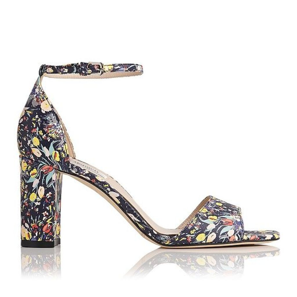 Helena Multi Printed Leather Sandals