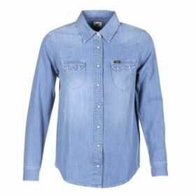 Lee  REGULAR WESTERN  women's Shirt in Blue