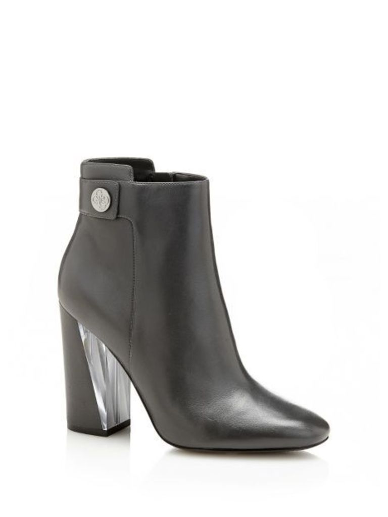 Guess Eleda Leather Ankle Boot