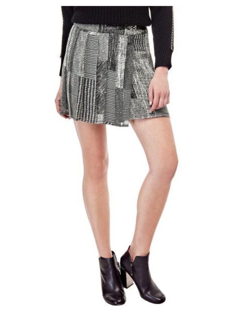 Guess Printed Mini Skirt