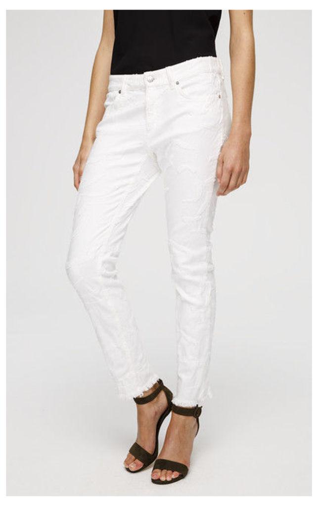 ESCADA SPORT 5-pocket pants J492 White