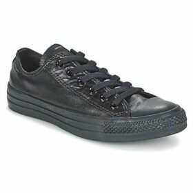 Converse  CHUCK TAYLOR ALL STAR SEASONAL METALLICS OX  women's Shoes (Trainers) in Black