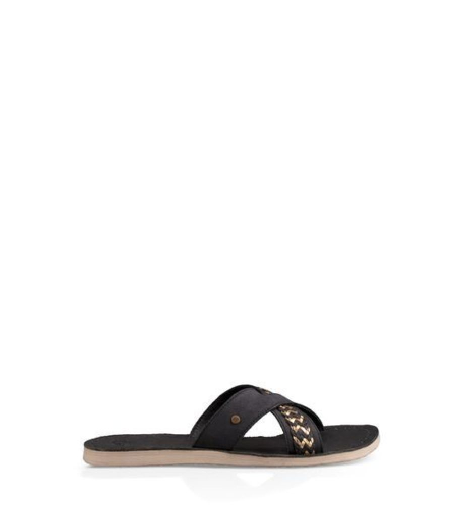UGG Lexia Womens Sandals Black 7