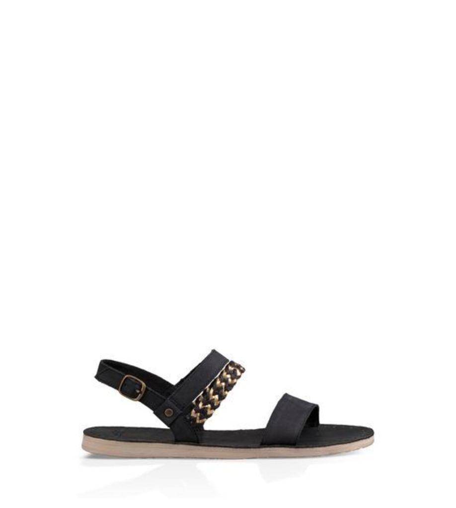 UGG Elin Womens Sandals Black 9