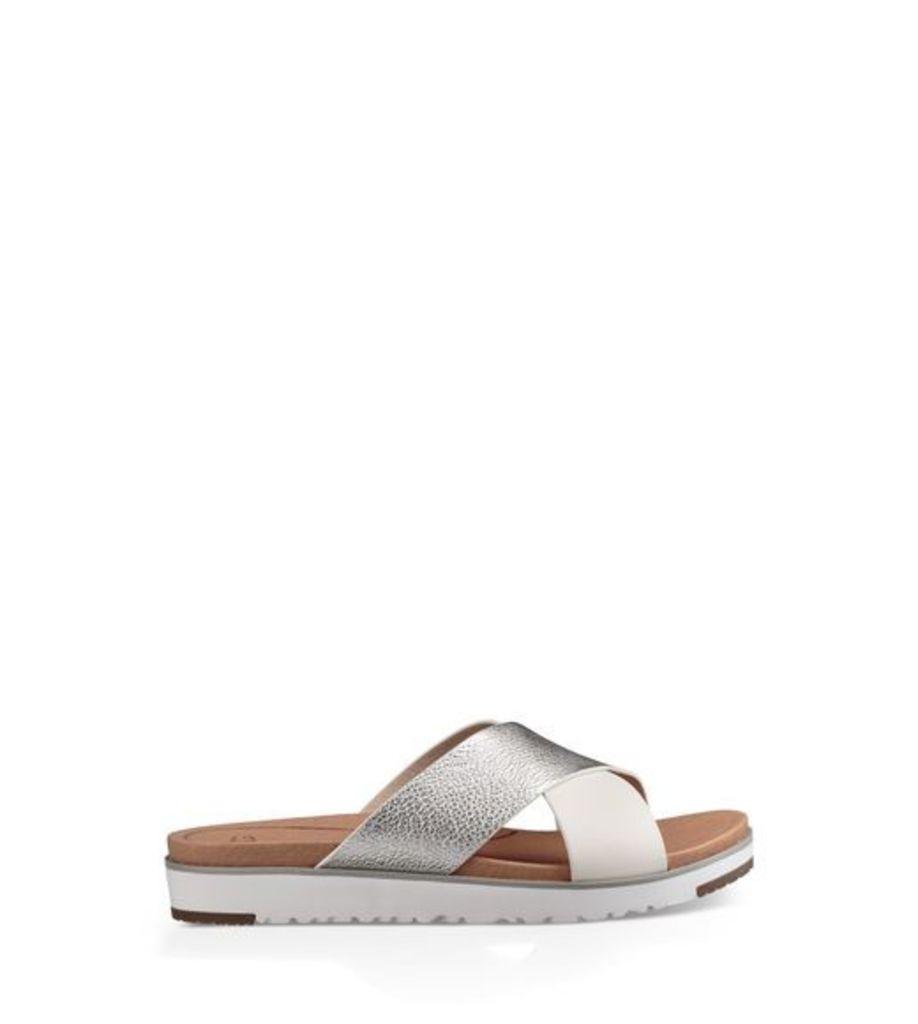 UGG Kari Womens Sandals Silver 4.5