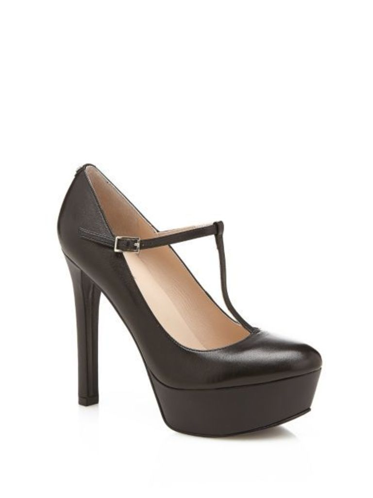 Guess Easter Leather Court Shoe