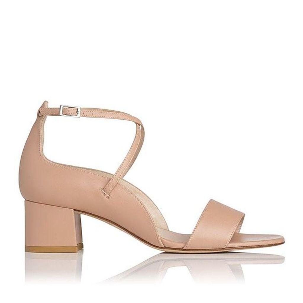 Dina Natural Leather Formal Sandals