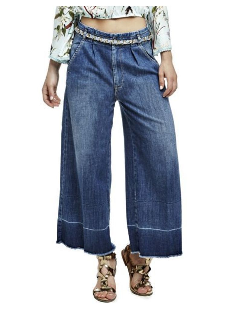 Guess Culotte Jeans With Belt