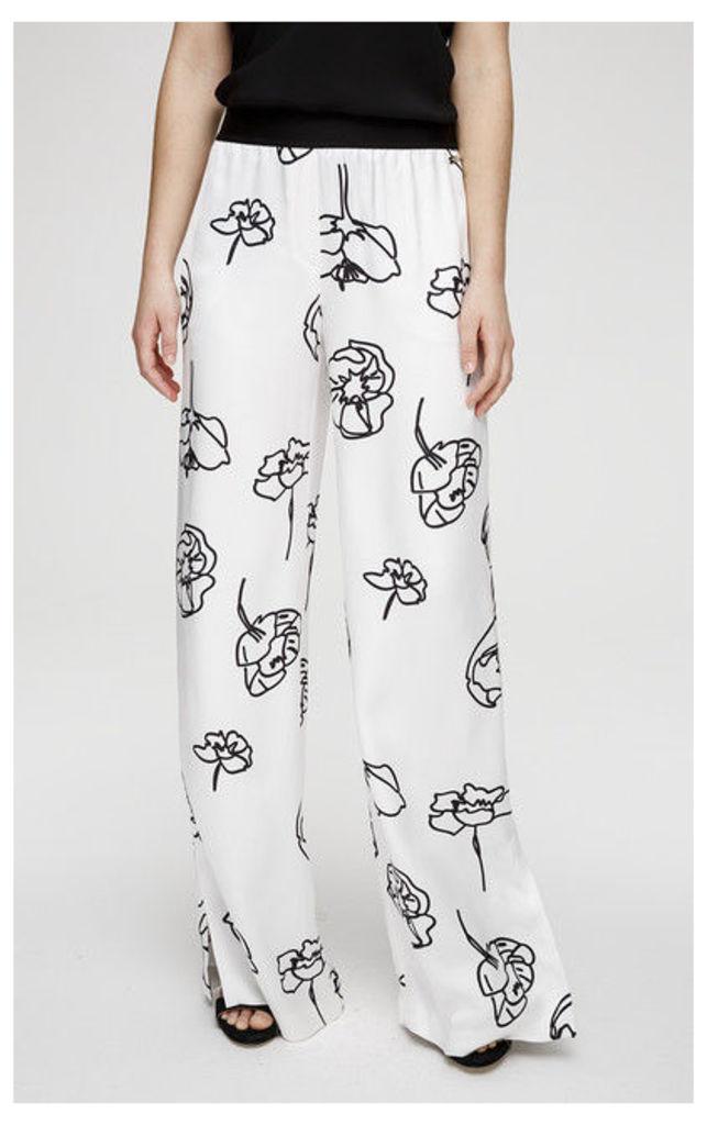 ESCADA SPORT Pants Taprint multicoloured