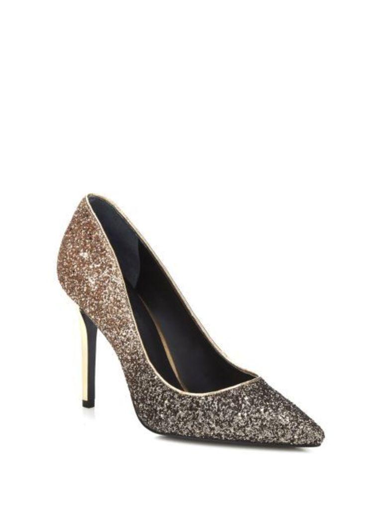 Guess Blixy Glitter Court Shoe