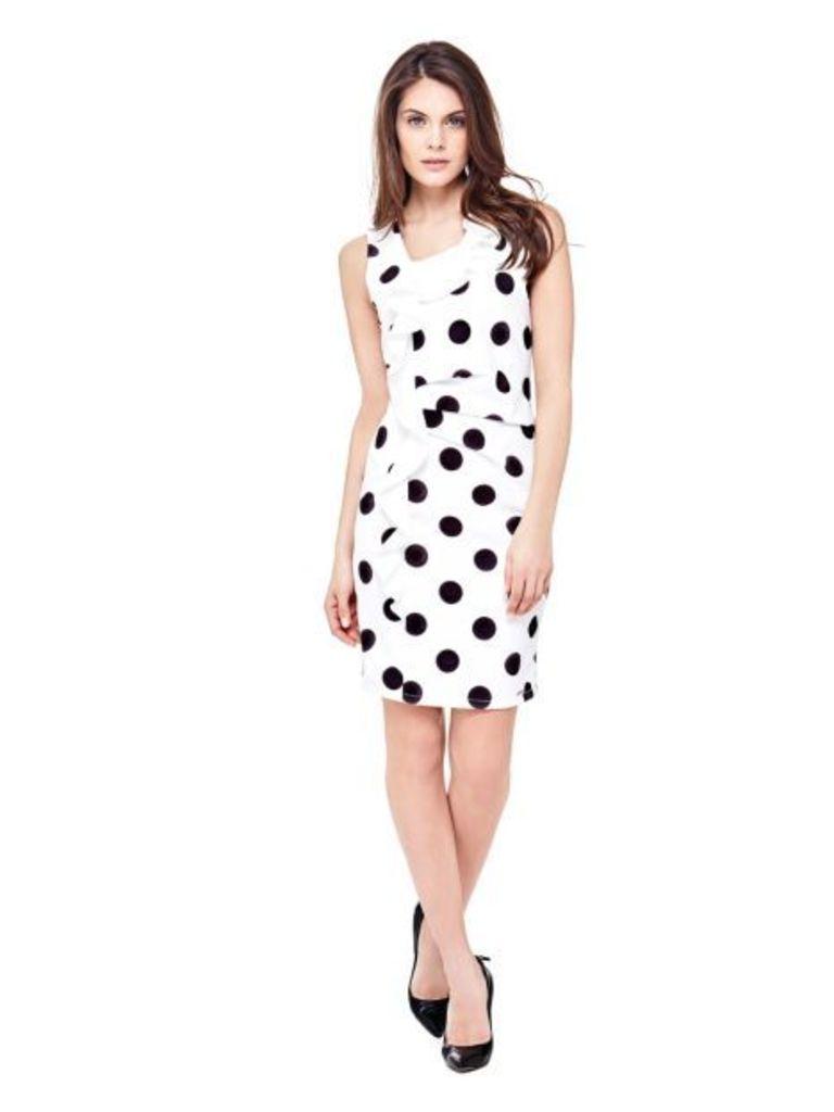 Guess Polkadot Print Dress