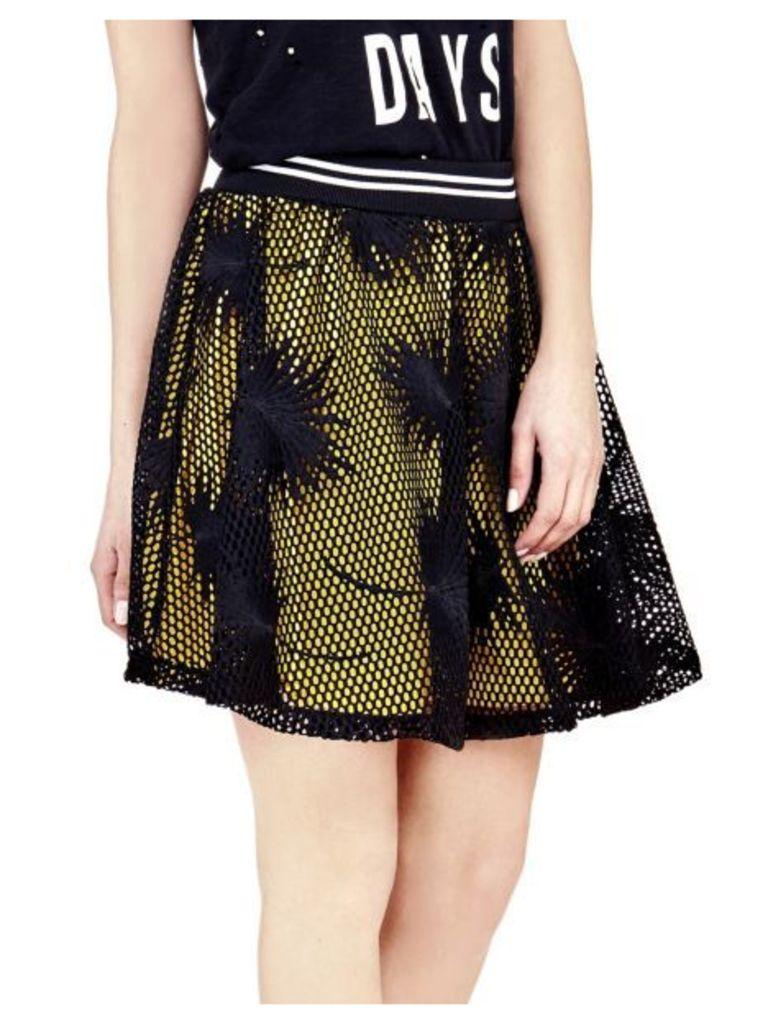 Guess Mesh-Look Skirt