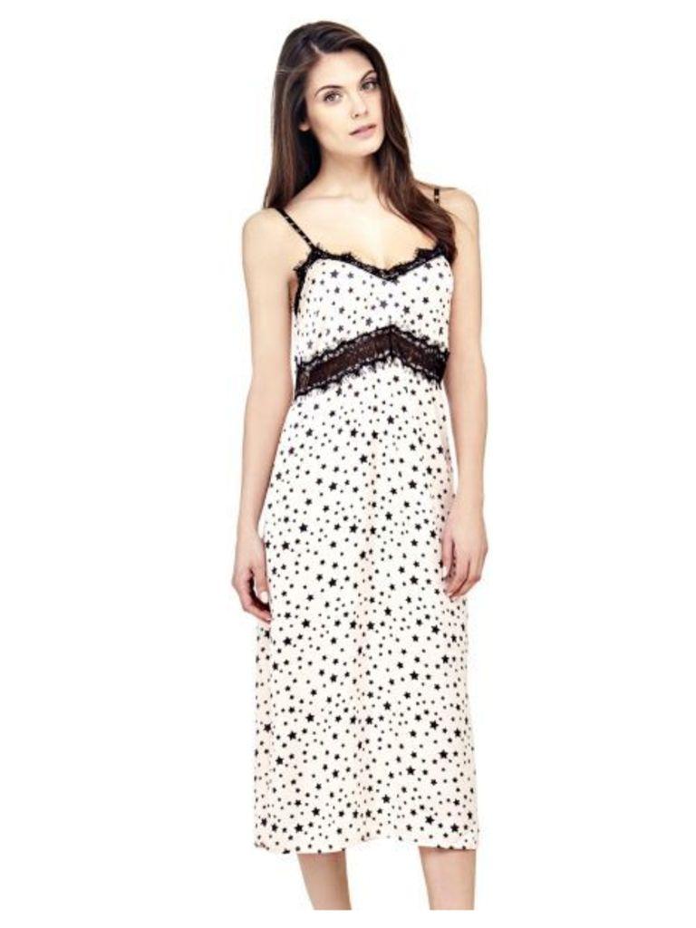 Guess Star Print Dress
