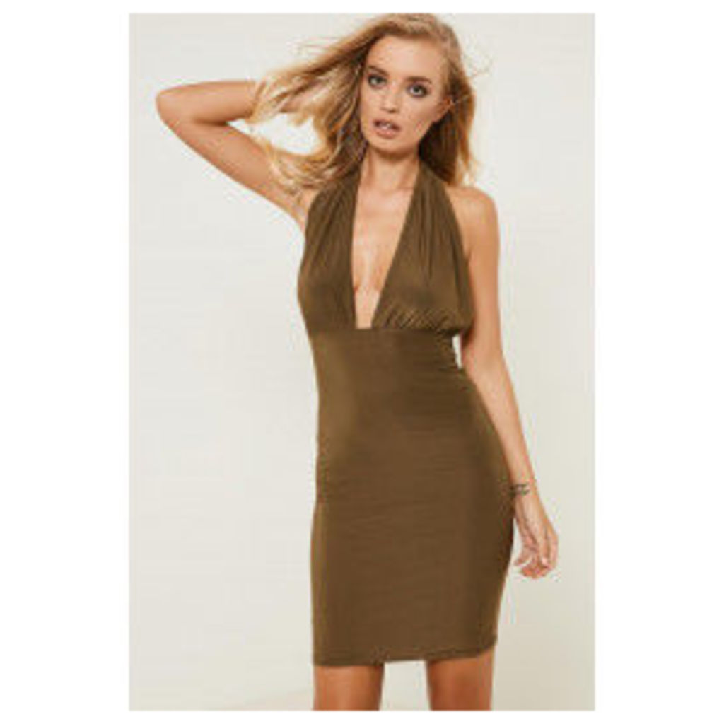 Brand Attic Halter Neck Slinky Dress