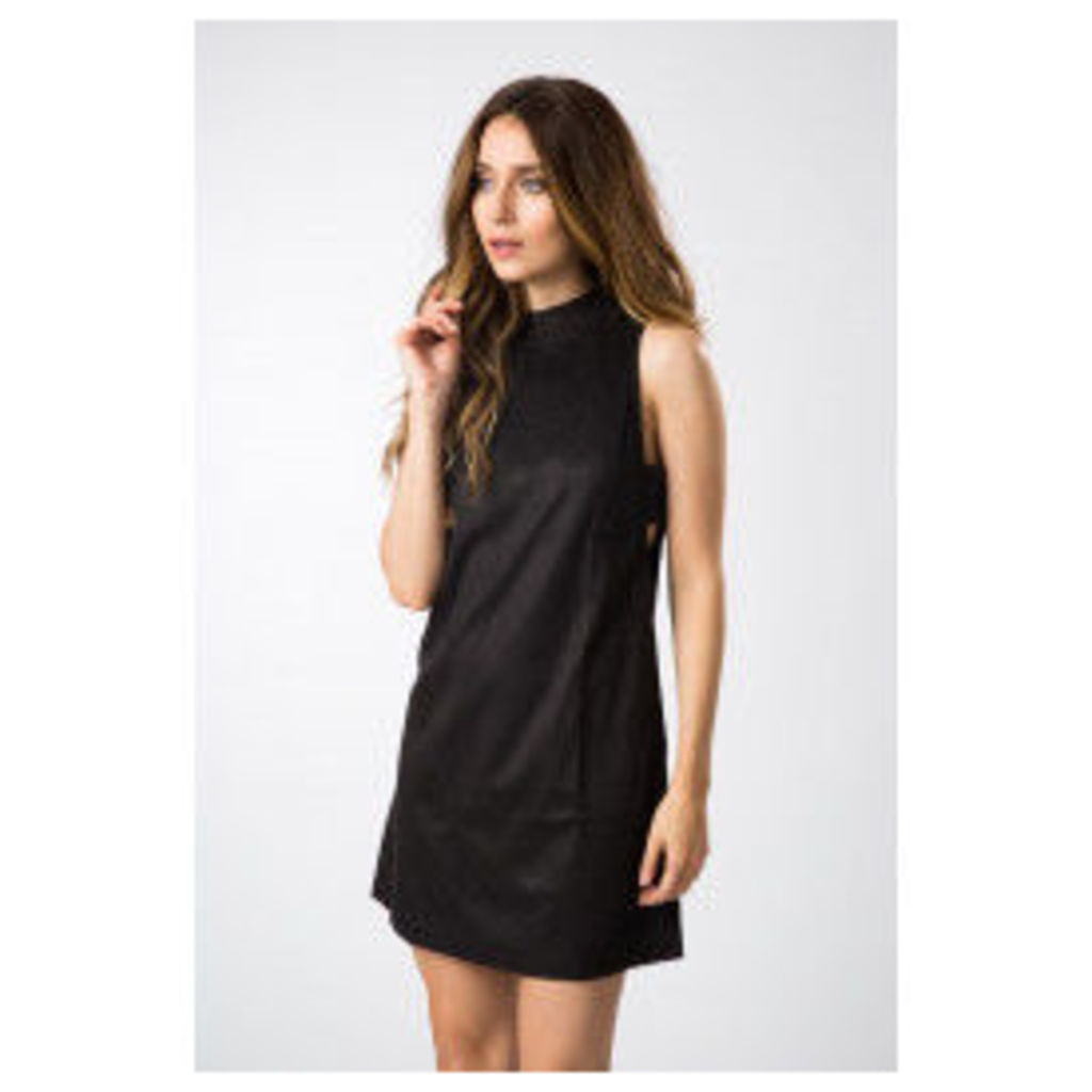 Fashion Union Tunic Dress with Side Tab Detail