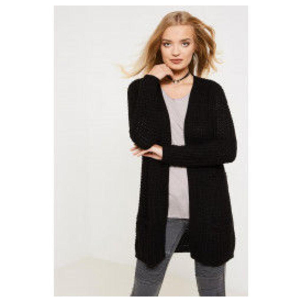 Vero Moda Cozy Copenhagen Long Sleeve Cardigan - Black