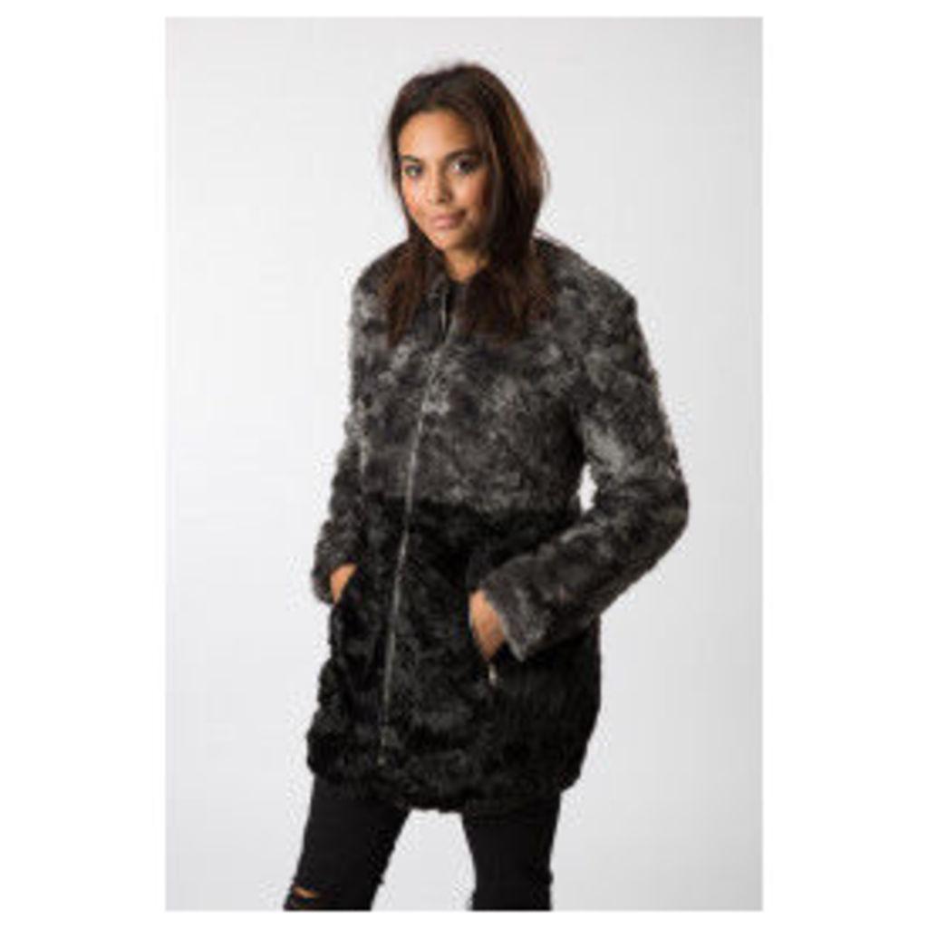 A&G Fur Cardigan Jacket
