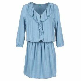 Benetton  AFIDOUL  women's Dress in Blue