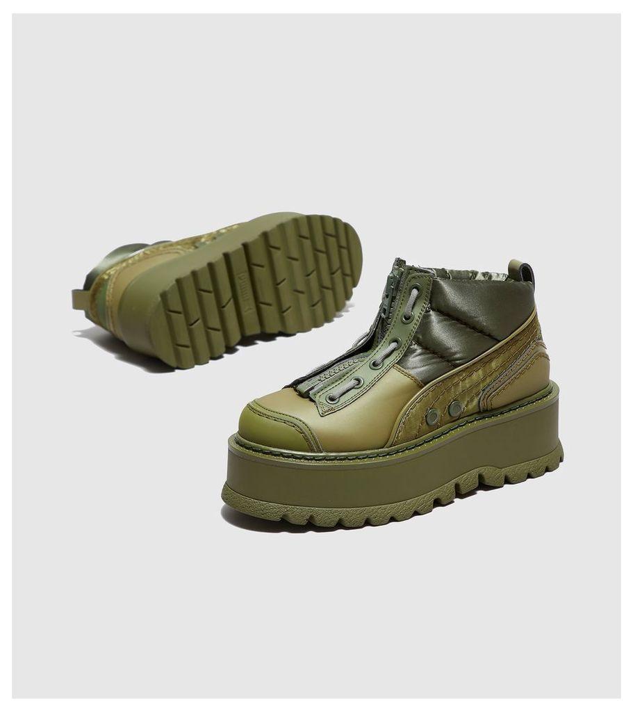 PUMA x Fenty Sneakerboot Zip Women's, Green