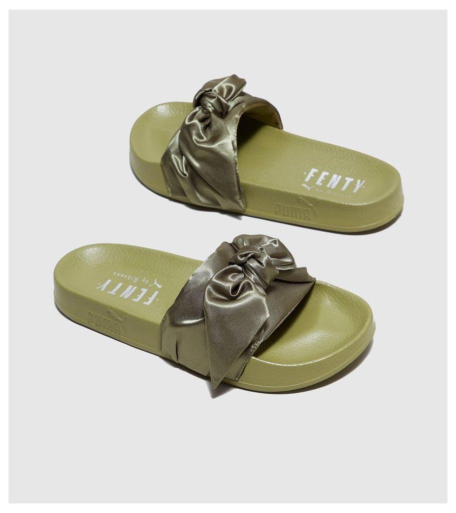 PUMA Fenty Bow Slide Women's, Khaki