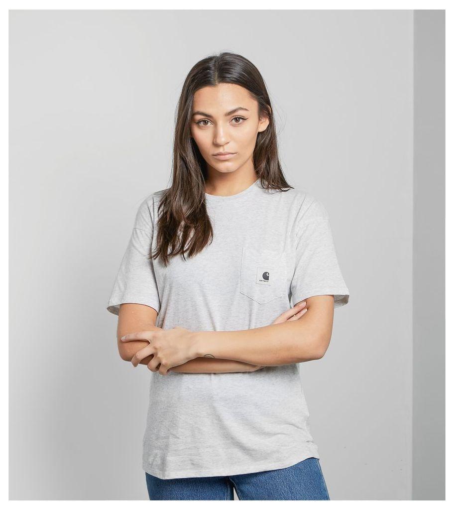 Carhartt WIP Carrie Pocket T-Shirt, Grey