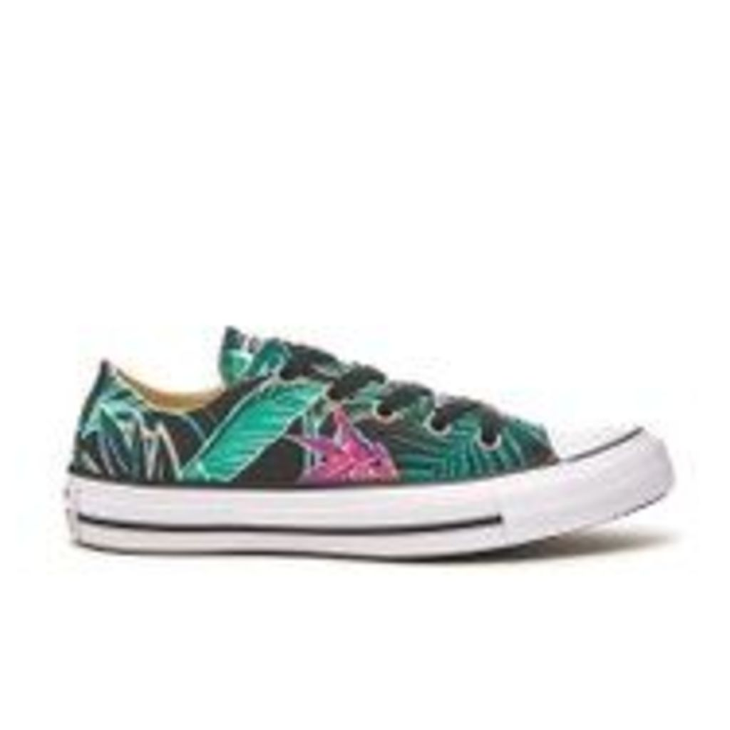 Converse Women's Chuck Taylor All Star Ox Trainers - Menta/Black/White - UK 7