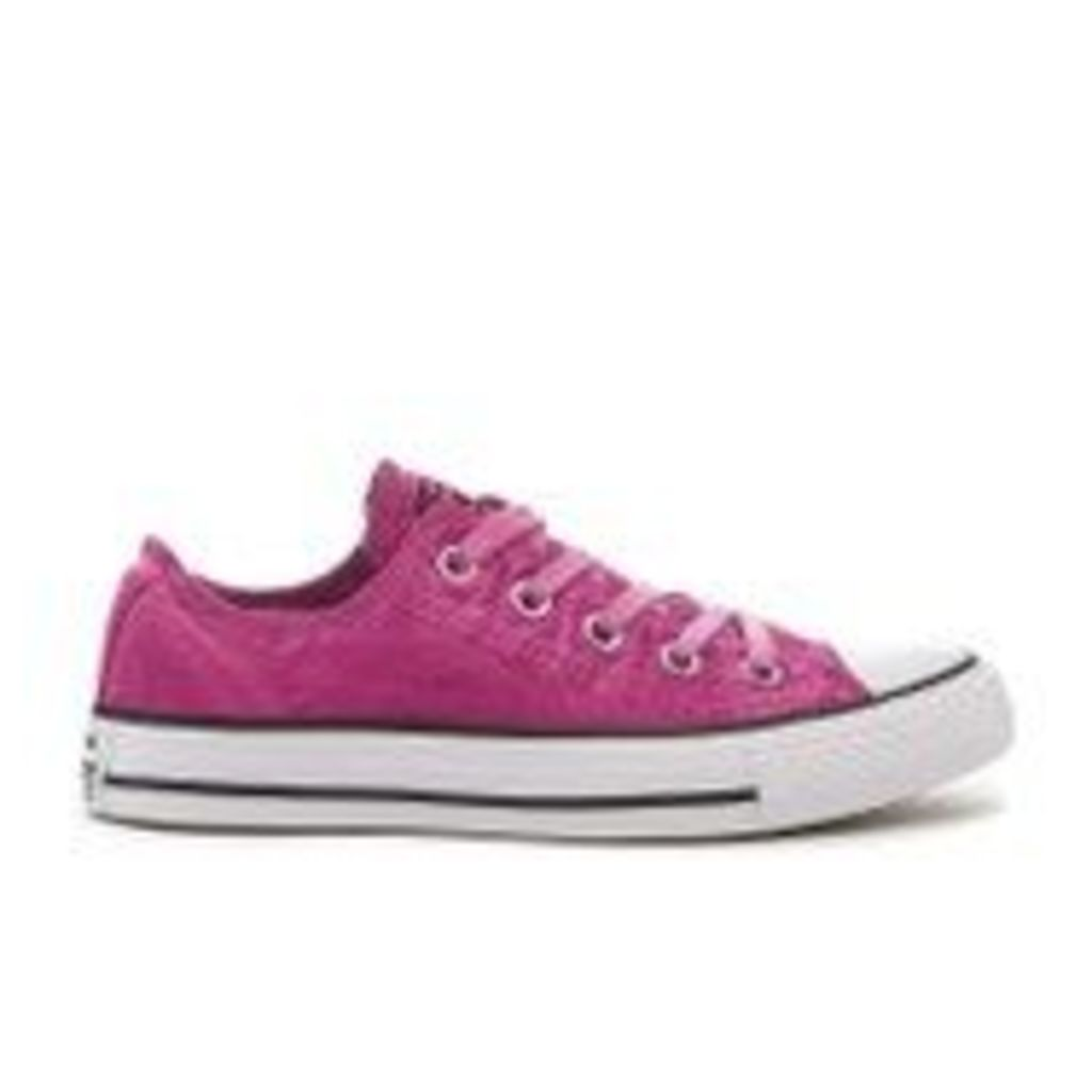 Converse Women's Chuck Taylor All Star Ox Trainers - Magenta Glow/Black/White - UK 4