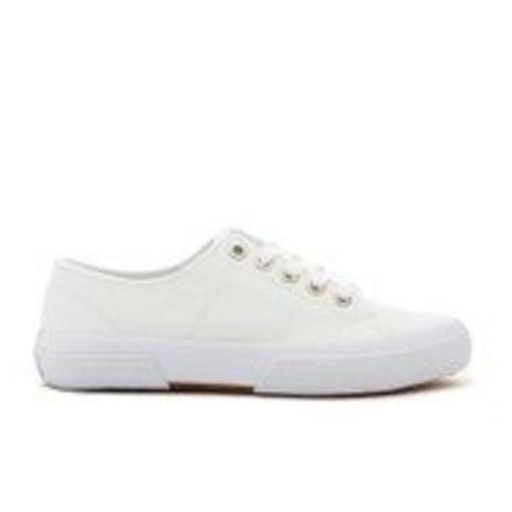 Lauren Ralph Lauren Women's Jolie-Ne Lace Up Vulcanised Trainers - White - UK 7.5/US 9.5
