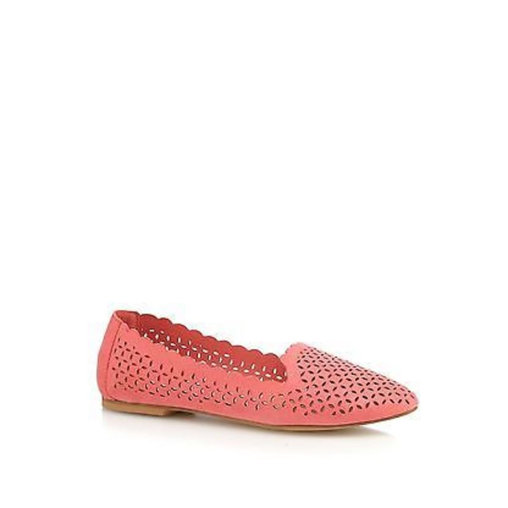 Red Herring Womens Coral Cut-Out Pumps From Debenhams
