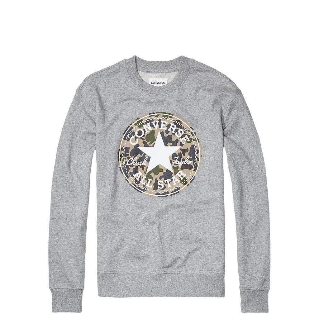 Women's Camo Fill Chuck Patch Sweatshirt