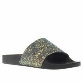 Schuh Green Proper Boss Slider Sandals
