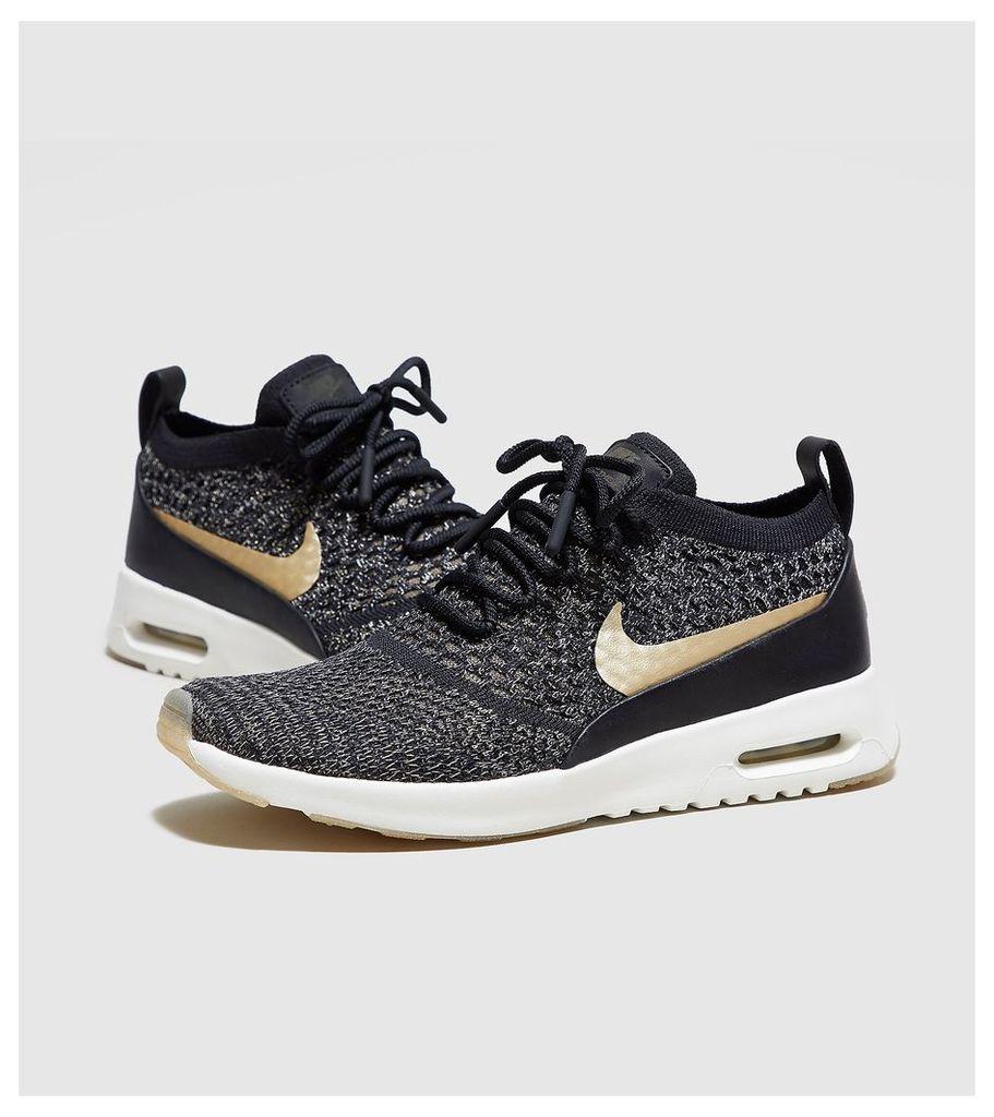 Nike Air Max Thea Flyknit Metallic Women's, Black
