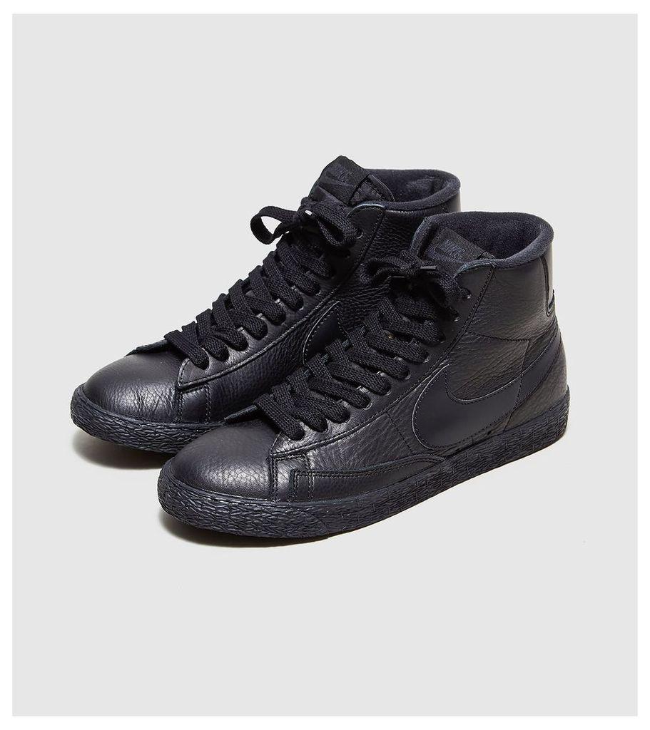 Nike Blazer Leather Women's, Black